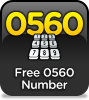 Free Incoming 0560 Telephone Number