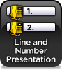 Line And Number Presentation
