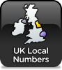 Geographic numbers are the normal way of numbering landlines and denote your location.