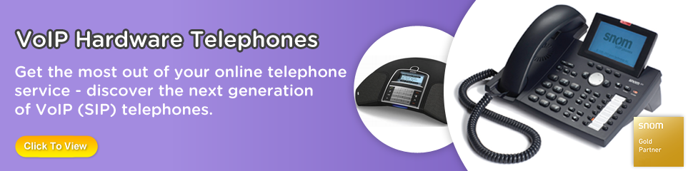 VoIP Hardware Telephones