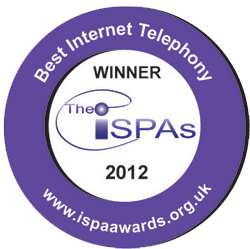 ISPA Best Internet Telephony Award 2012