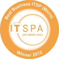 ITSPA Best Business VoIP Provider Award 2012
