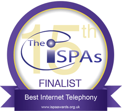 ISPA Best Internet Telephony Award Finalist 2013