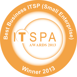 ITSPA Best Business VoIP Provider Award 2013